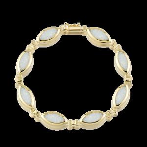 Altın Opal Bileklik