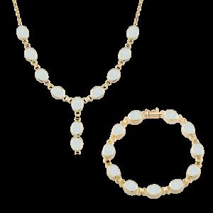 Altın Opal İkili Set
